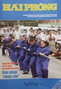 Newspaper Hai Phong weekend (1)